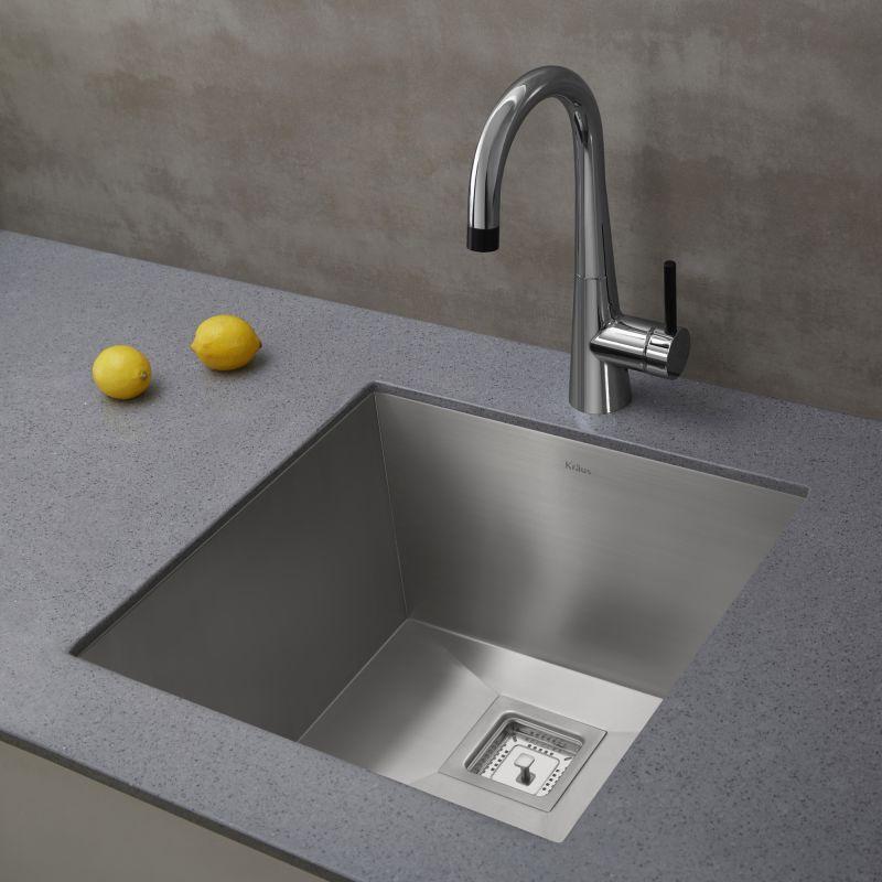 Kraus Khu19 Bar Sink Prep Sink Sink