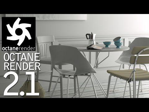 3 novedades en  #octanerender 2.1