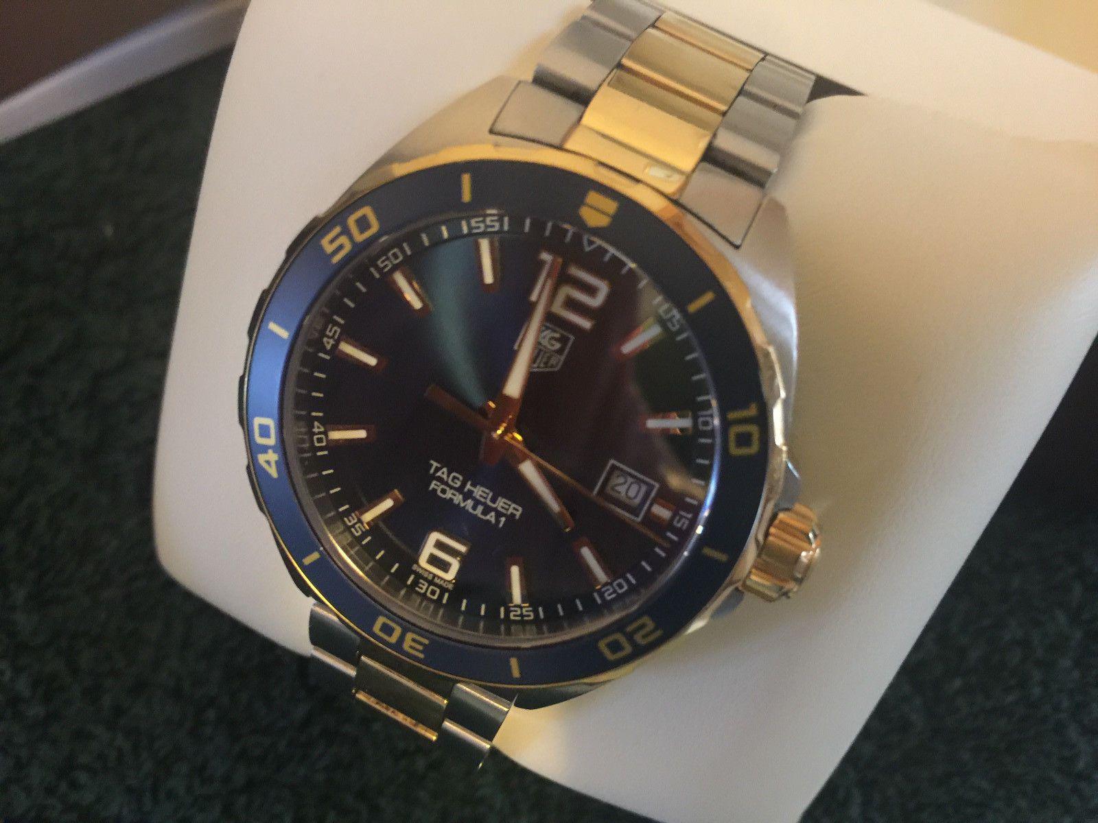 Worn Twice TAG Heuer Formula 1 Two Tone Watch WAZ1120 ...