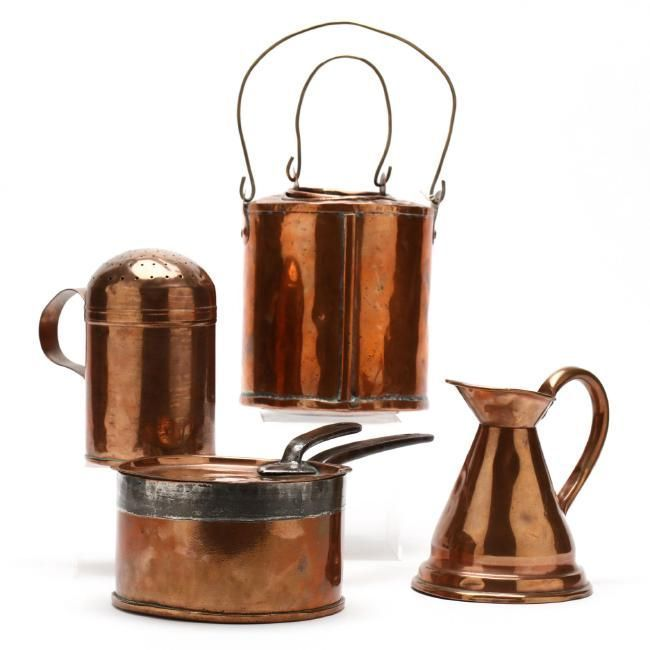 (4 Pc.) Vintage Copper Kitchen Accessories on #copperkitchenaccessories (4 Pc.) Vintage Copper Kitchen Accessories : Lot 1117 #copperkitchenaccessories (4 Pc.) Vintage Copper Kitchen Accessories on #copperkitchenaccessories (4 Pc.) Vintage Copper Kitchen Accessories : Lot 1117 #copperkitchenaccessories