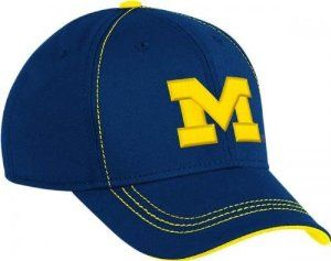Michigan Wolverines Adidas Offical Sideline Flex Fit Cap Hat Large / X-Large by adidas. $17.50. Michigan Wolverines. 97% Polyester 3% Spandex. Flex Fit Cap Hat. Large / X-Large Flex Fit. Adidas. Michigan Wolverines Adidas Cap Hat  Embroidered Full Logo on Front  Made of 97% Polyester 3% Spandex. All Stickers Attached.  New and Never Been Worn.