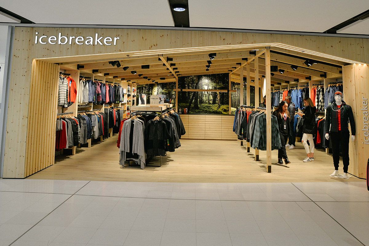 Sydney Airport Shops Breaking The Ice Awpl Opens High Performance Outdoor Apparel