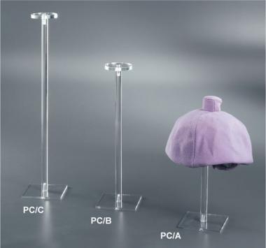Espositori porta cappelli singoli in plex trasparente  6bd47637d513