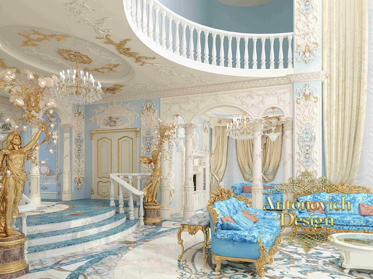 Дизайн интерьера, дизайн спальни, элитный дизайн ... Роскошные Дома в Стиле Барокко