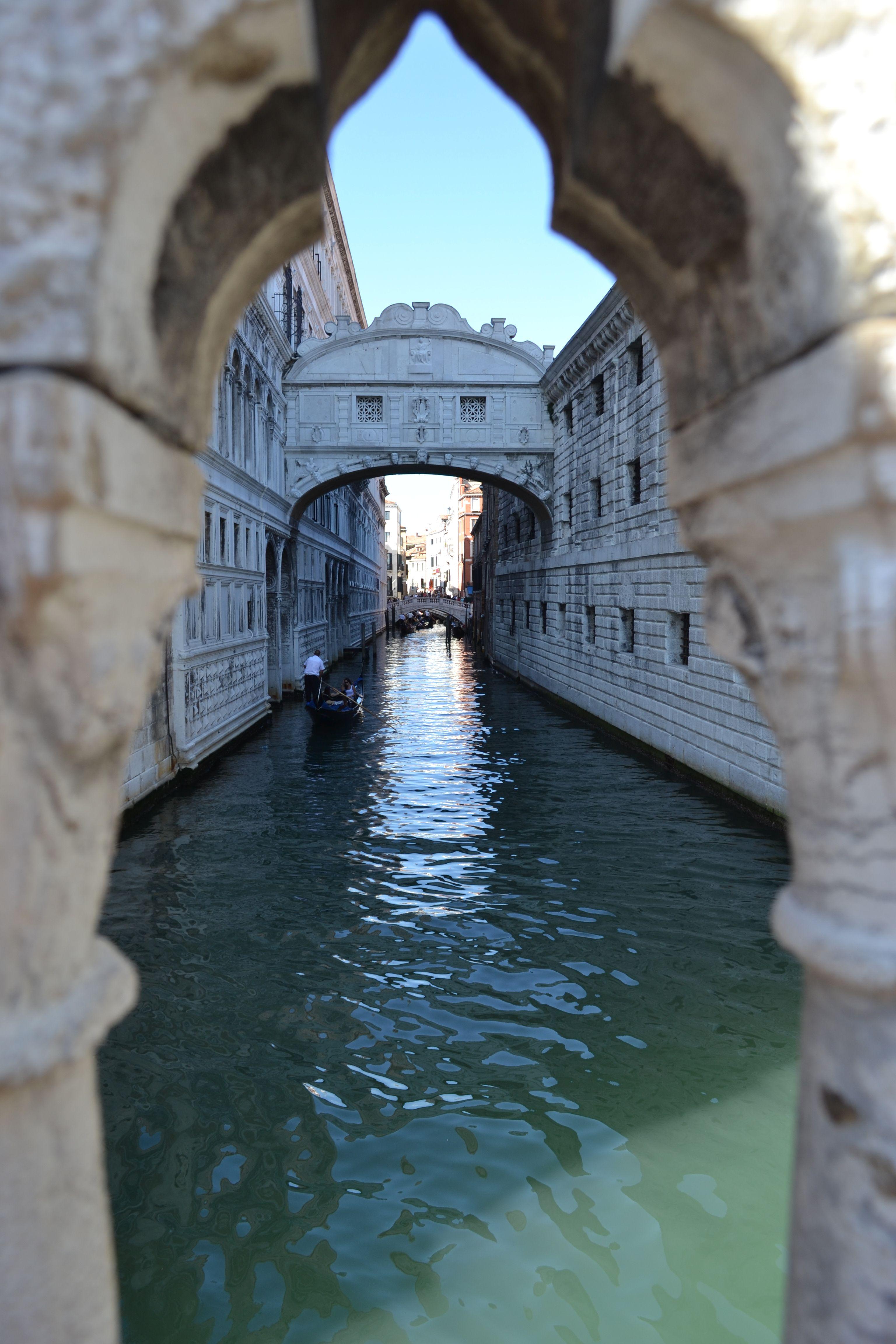Venecia Puente De Los Suspiros Venecia Italia Venecia Italia