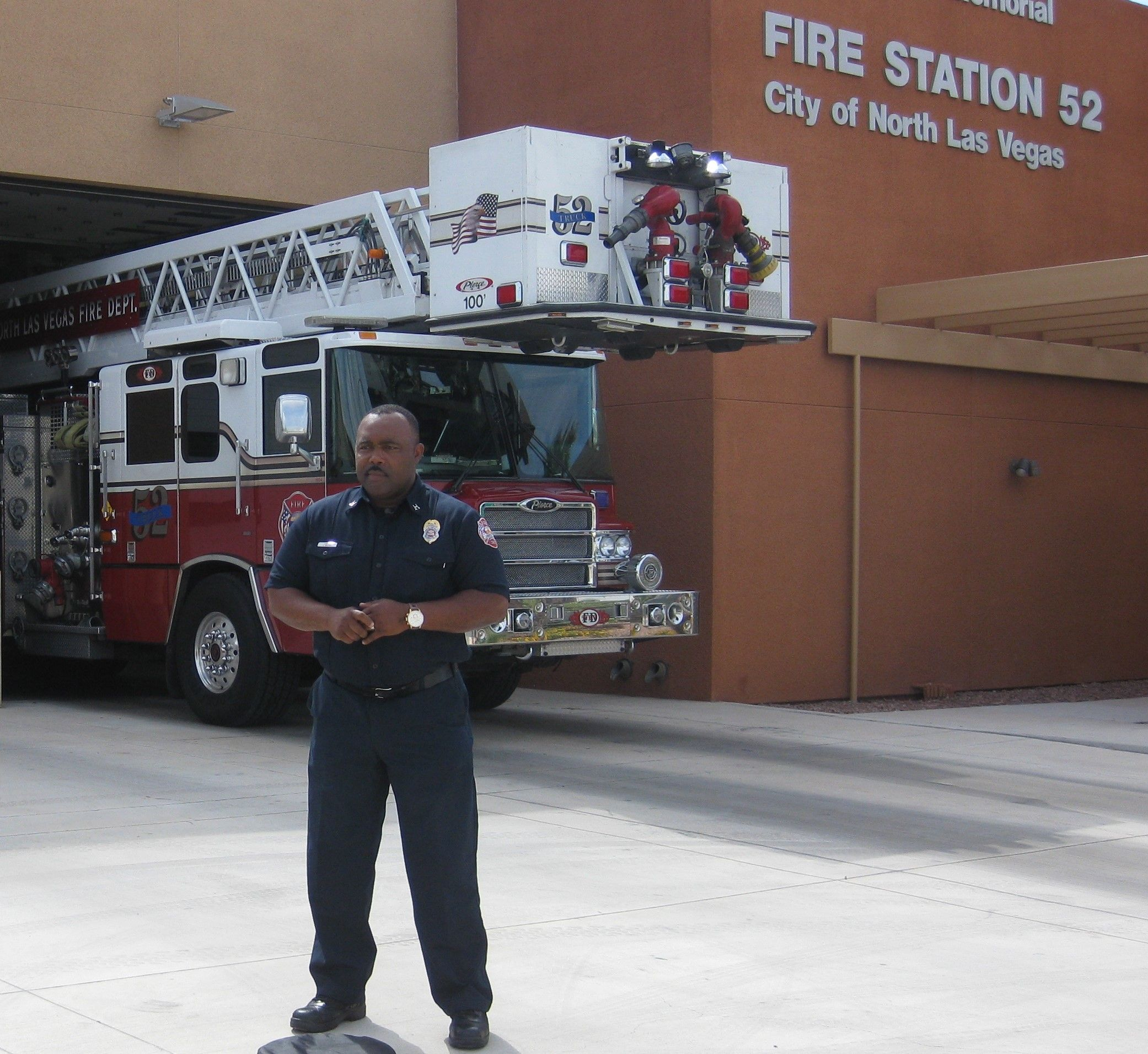 Capt Cedric Williams Pio North Las Vegas Fire Rescue A Successful Career As A Fireman And In The Military Fire Learn To Swim Fire Station Water Safety