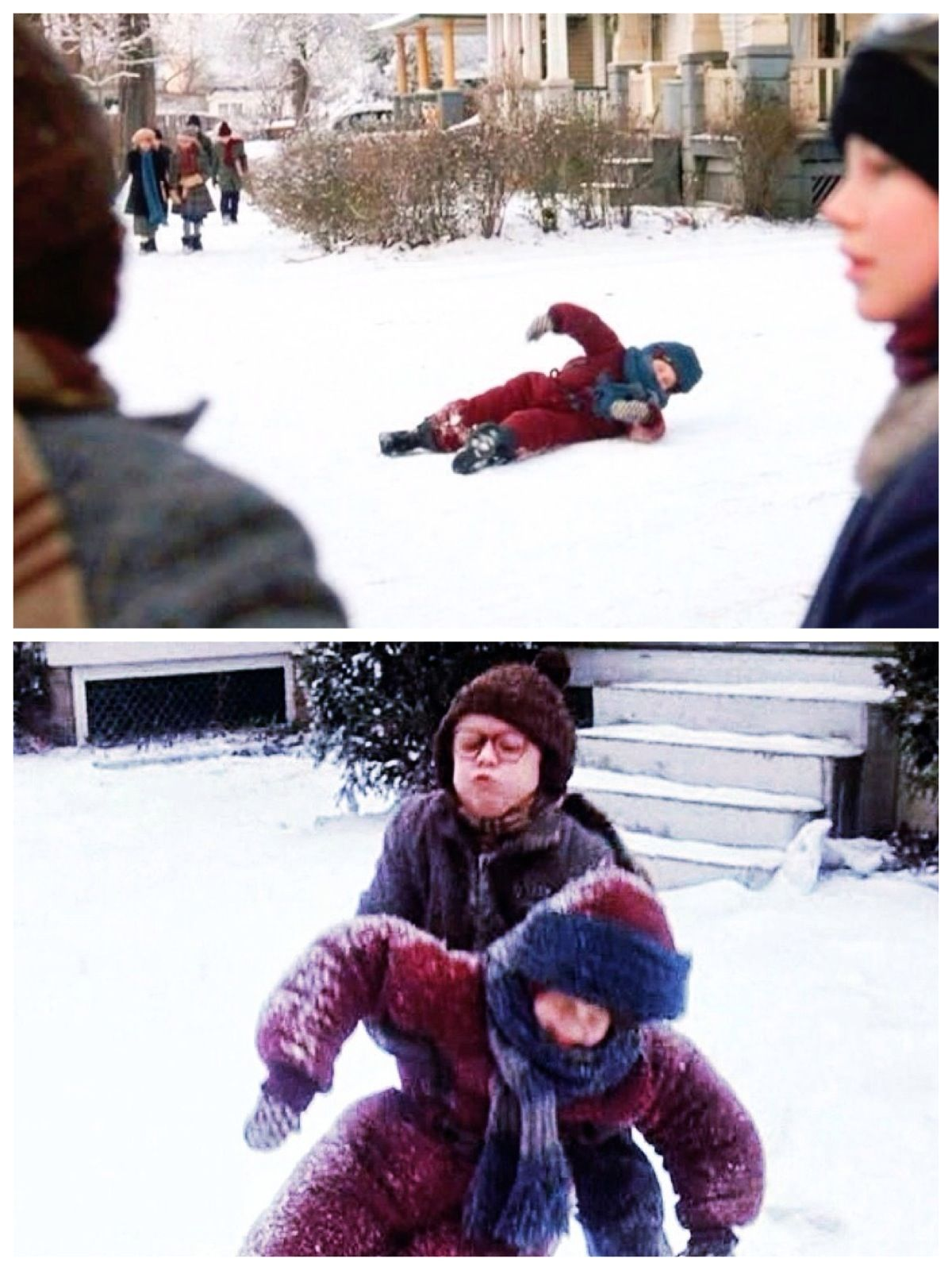 Randy Christmas Story.A Christmas Story 1983 Randy Saying I Can T Get Up