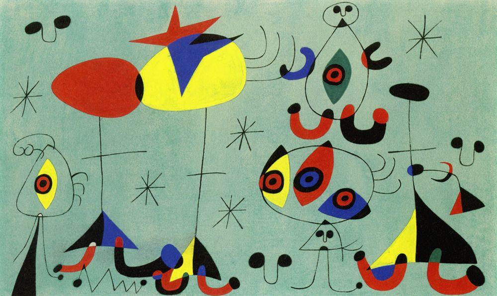 Joan Miró, Snob Party at the Princess House, 1946 | Art Collection ...
