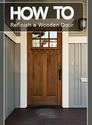How To Renovate Your Wooden Door Doors Times And Front Doors