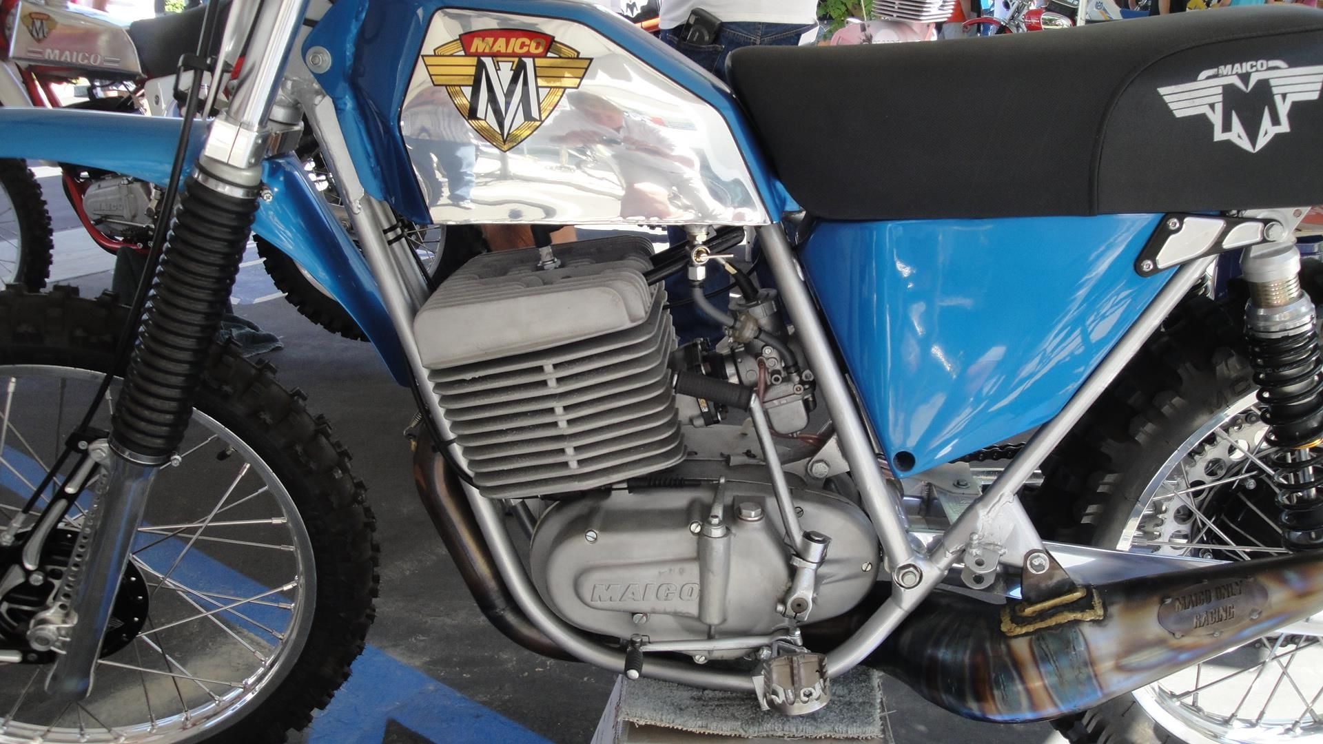 1974 Maico 501 Rebuilt By Eric Cook Of Maico Only Vintage Dirt