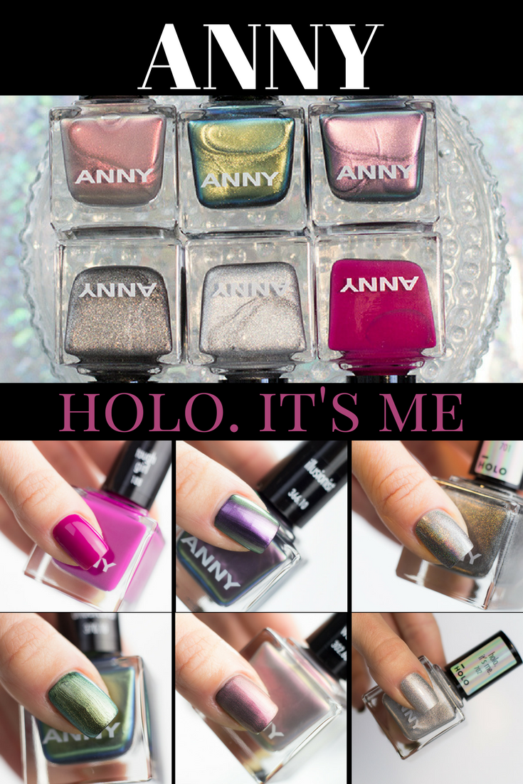ANNY Holo Limited Edition | Beauty nails and Swatch