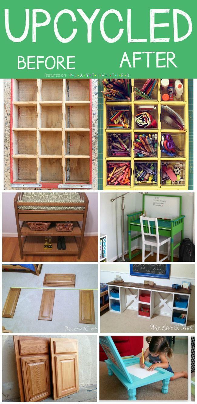 Repurposing Old Furniture Kid friendly ideas  Activities