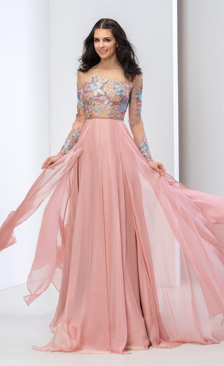 DressV A-Line Bateau Appliques Prom Dress long,evening dress long ...