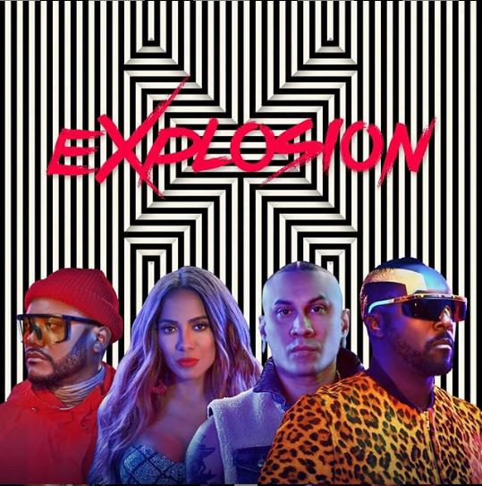 Black Eyed Peas Anitta Explosion Pop Rock Songs Black Eyed Peas Latin Music