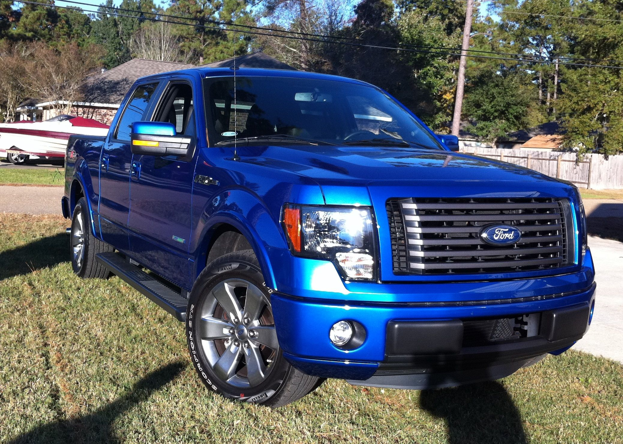 2013 Ford F 150 Fx2 Ecoboost Flame Blue Jb S La My Style
