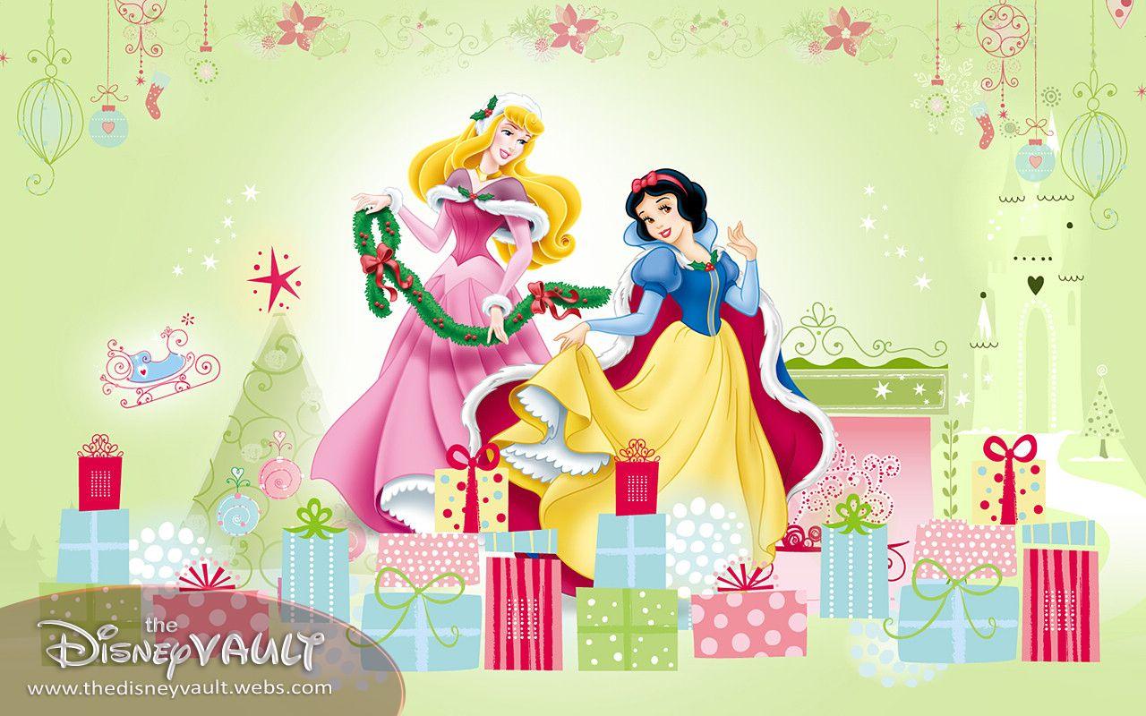 xmas disney princess disney princess 9584706 1280 800jpg 1280800 - Princess Christmas