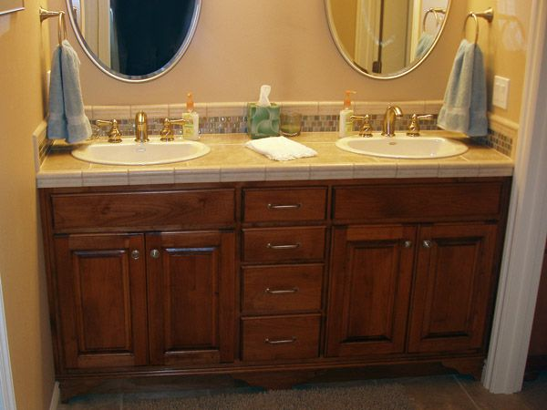Built In Bathroom Vanities double sink bathrooms vanities | homes | pinterest | double sink