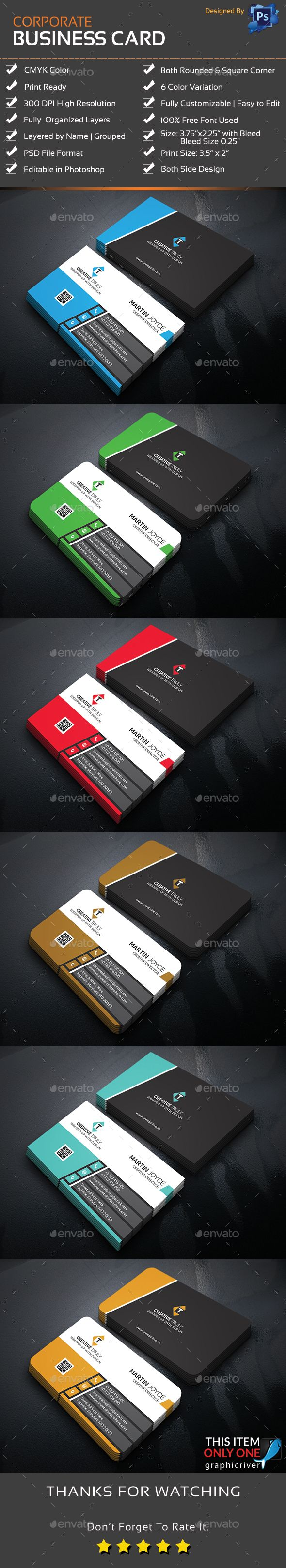 Corporate business card corporate business print templates and corporate business card corporate business print templates and card printing reheart Image collections