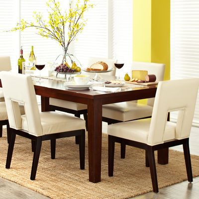 Torrance 84 Mahogany Brown Dining Table With Images Wood Dining Room Table Wood Dining Room Brown Dining Table