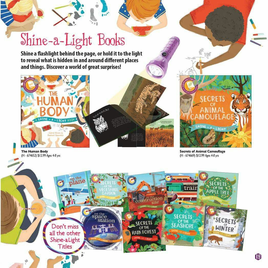 Usborne Shine A Light Books Fascinating Shine A Flashlight Behind The Pages Of These Books To Reveal What Is Review