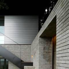 Casas Moderno por 무회건축연구소