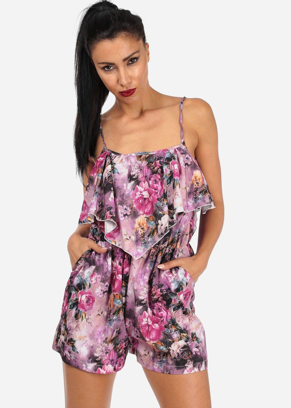 #floral #romper #fashion #modaxpress