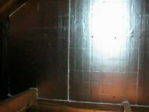 Applying Foil Faced Rigid Foam Board To Knee Walls After Knee Wall Foam Board Foam