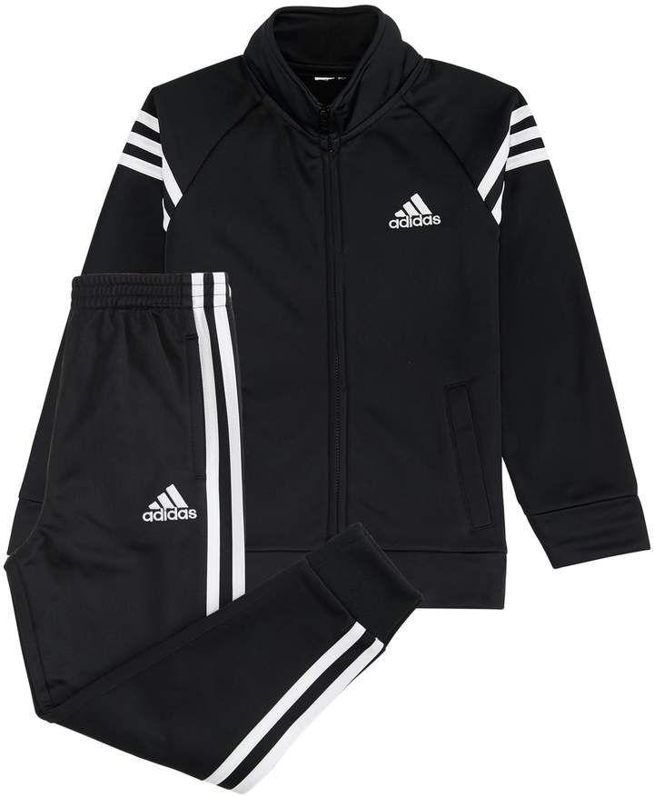 62f60d4dda72 adidas Boys 4-7x Tricot Zip Track Jacket   Pants Set   Matilda s ...