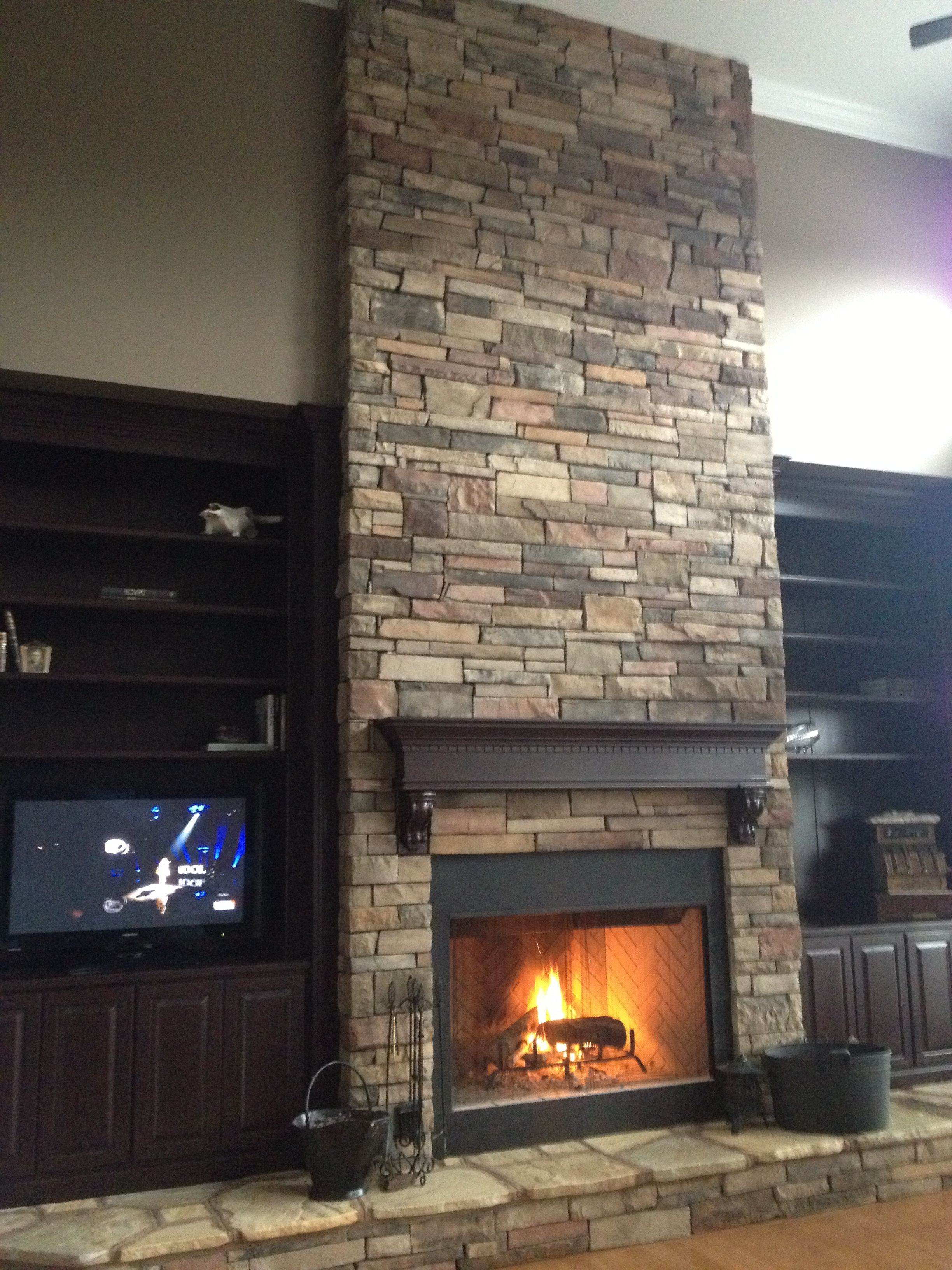 Fireplace Remodel | Home sweet home :) | Pinterest