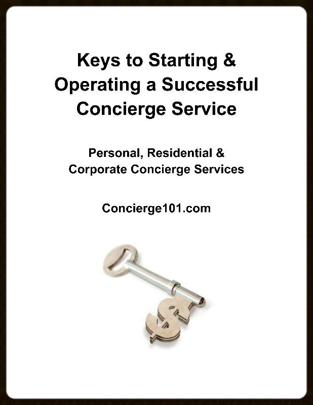 How To Start A Concierge Business