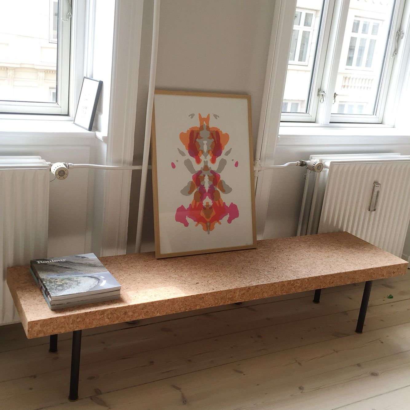 IKEA Sinnerlig Sofa Table Used As Bench In The Dining Room