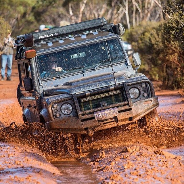 """overlandbound: """"Awesome photo from @ronny_dahl Land Rover Defender! by provenoverland http://ift.tt/1Lv33G9 """""""