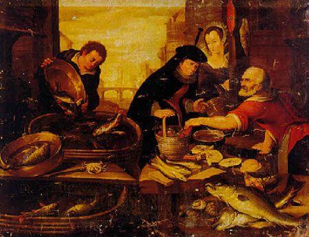 Arnout de Muyser - La stalle du vendeur de poissons.jpg