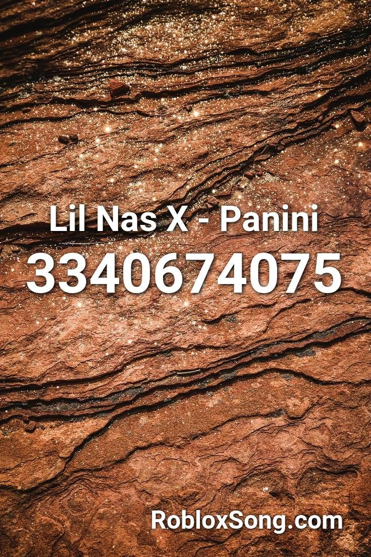 Lil Nas X Panini Roblox Id Roblox Music Codes With Images