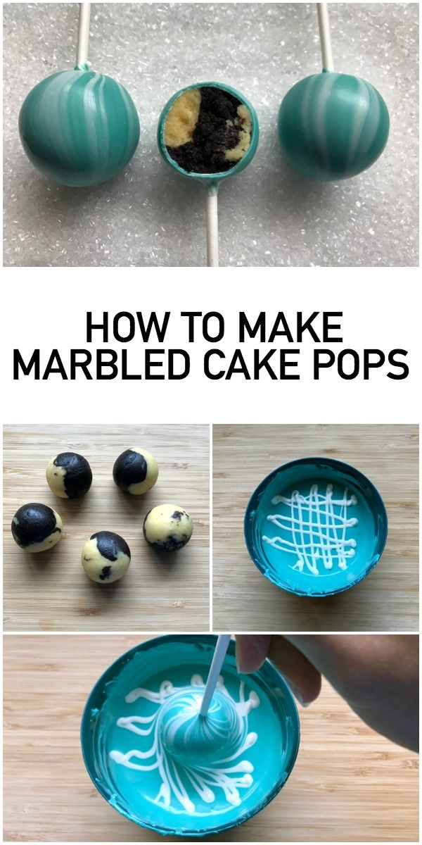 Learn To Make Show Stopping Marble Cake Pops With A Trendy Design Inside And Out Pop Expert Kris Galicia Brown S Tutorial Makes It Easy