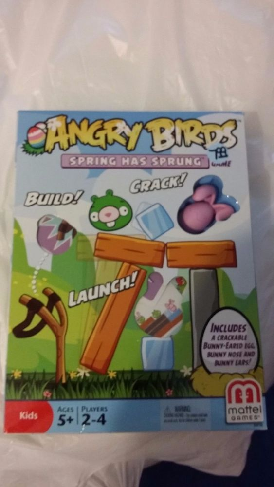 Angry Birds Spring Has Sprung Easter Board Game #Mattel