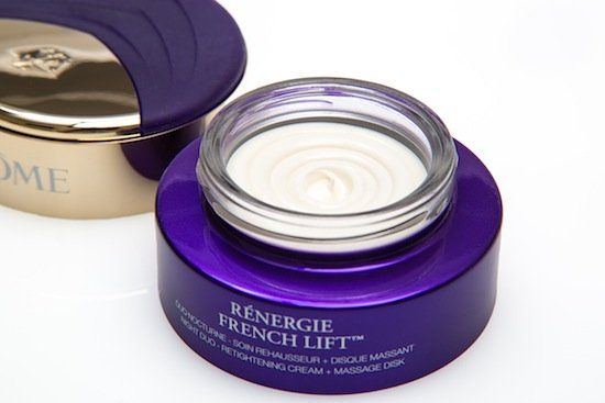 3a5e61d6ebb Cosmetic Chemist Review, Ingredients: Lancôme Rénergie French Lift™ Duo  Nighttime Cream & Massage Disk – Dry Facial Skincare Ritual