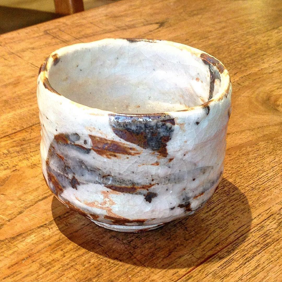 田中将則さん志野茶碗 #織部 #織部下北沢店 #陶器 #器 #ceramics #pottery #clay #craft #handmade #oribe #tableware #porcelain