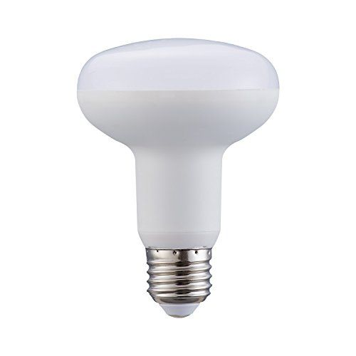 9w Led Dimmable Br25 R25 Bulb E26daylight White 5000kmilky Covercircular Umbrella Mushroom Lamp1 Pack Mushroom Lamp Dimmable Led Incandescent Bulbs