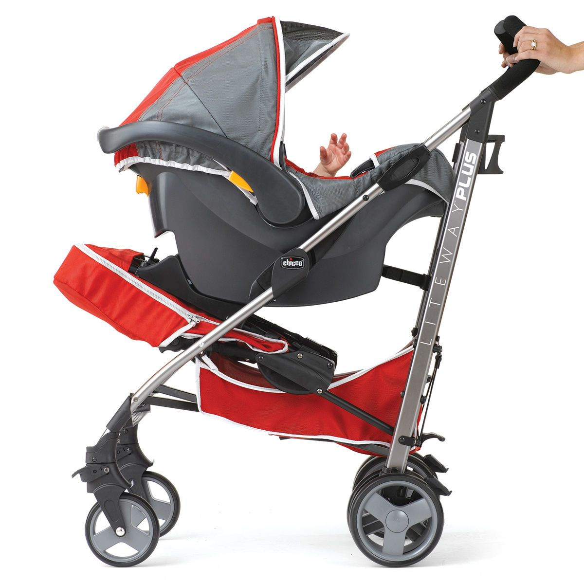 Chicco Chicco Liteway Plus Stroller Silver Chicco
