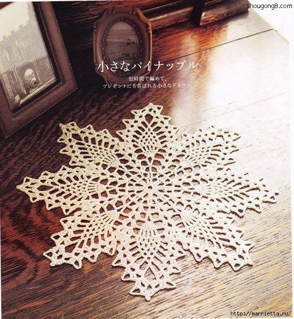 FREE DIAGRAM ~ Crochet Knitting Handicraft: crochet doilies