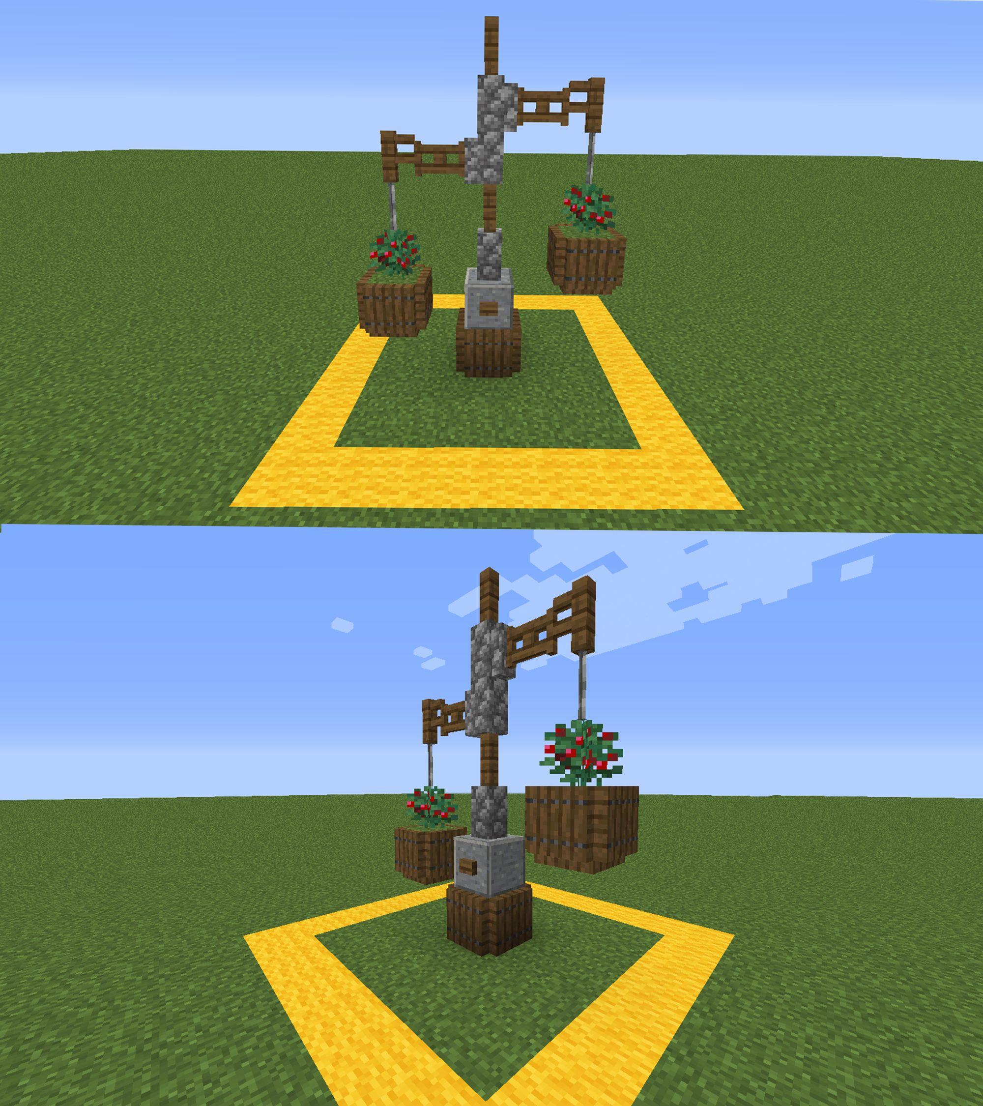 Minecraft Decorations By Rebecca Barhorst On Minecraft