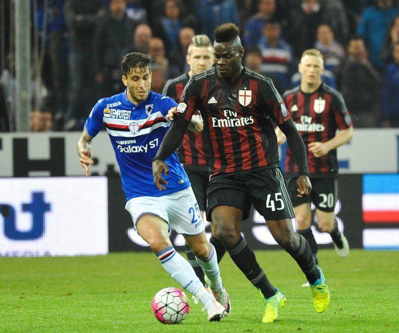 Sampdoria-Milan, il film della partita