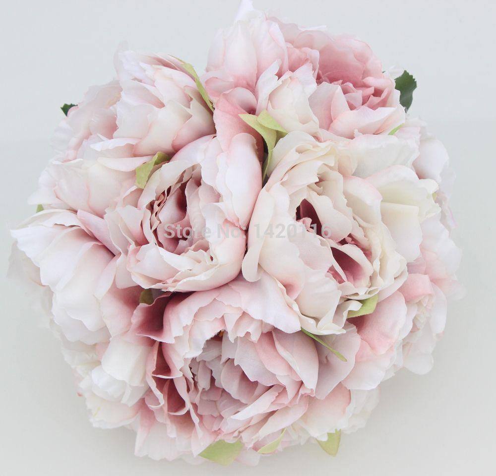 One bouquet cameo pink wedding flower rose peony bride bridesmaid one bouquet cameo pink wedding flower rose peony bride bridesmaid flower girl posy wedding decoration izmirmasajfo Choice Image