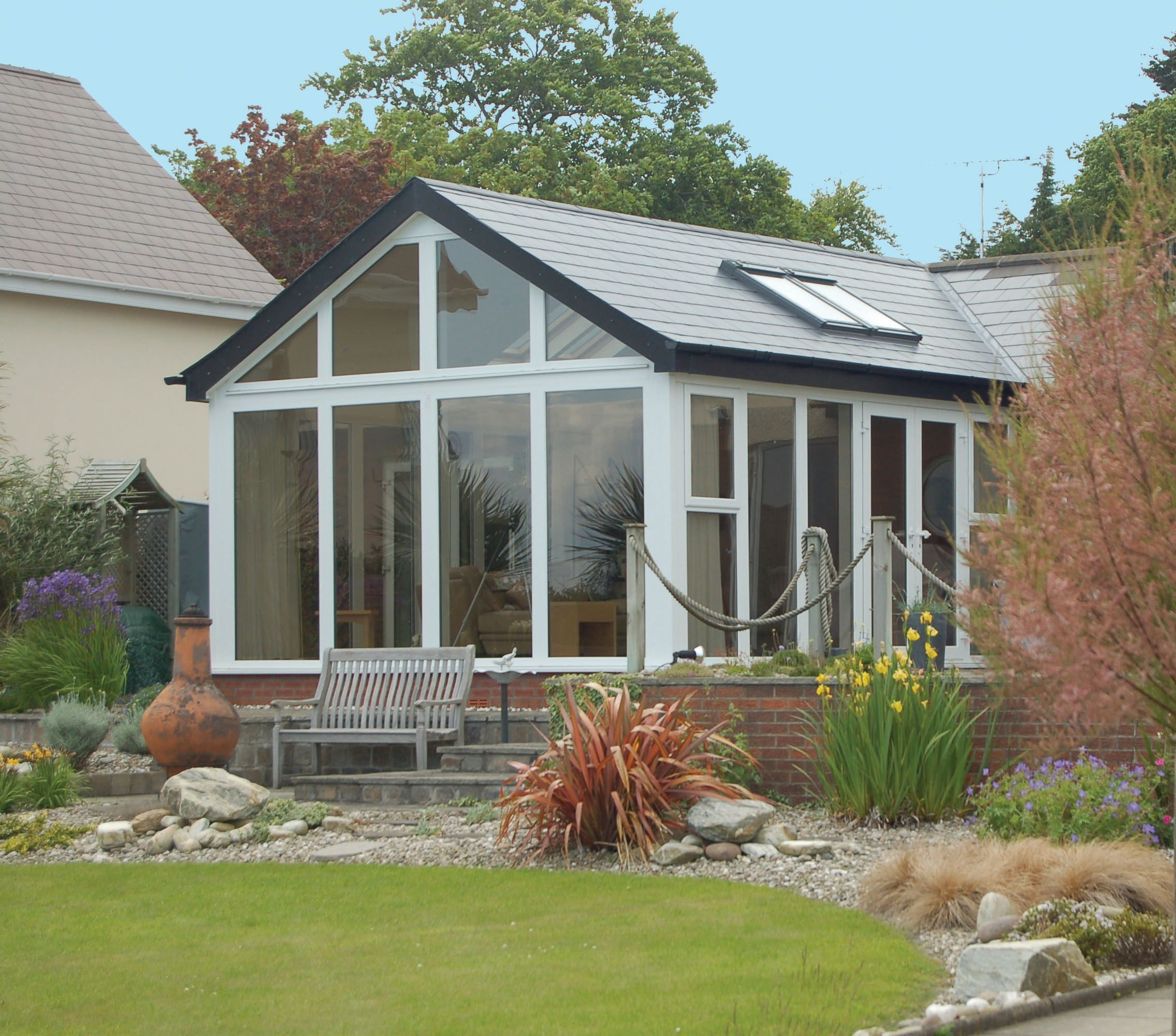 Homeroofingideas Tiled Conservatory Roof Fibreglass Roof Roofing Systems
