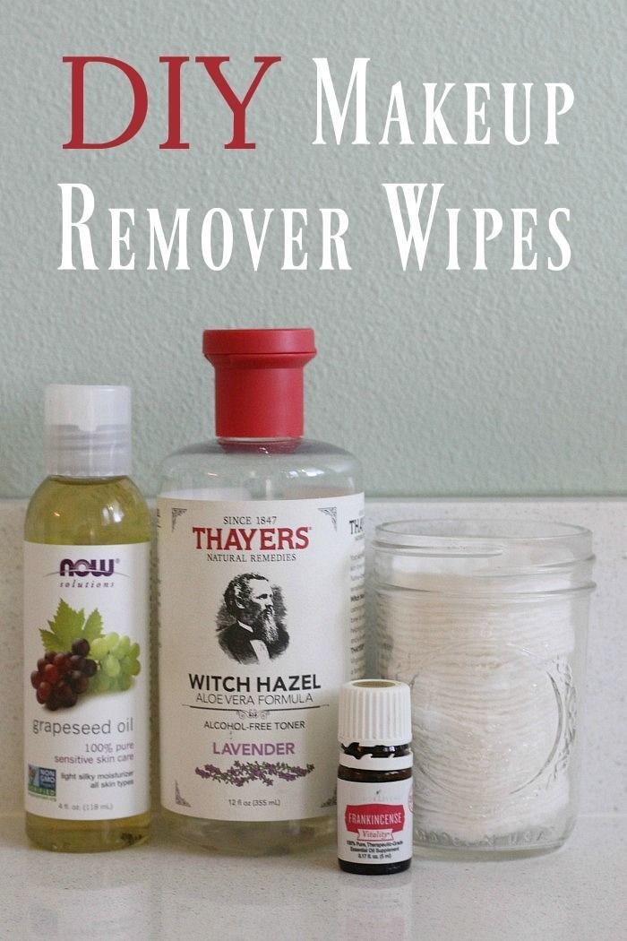 It's easy to make your own makeup remover wipes that don't contain harsh chemicals #makeuptips #makeup #beautytips #naturalmakeup #naturalhealth #diybeauty