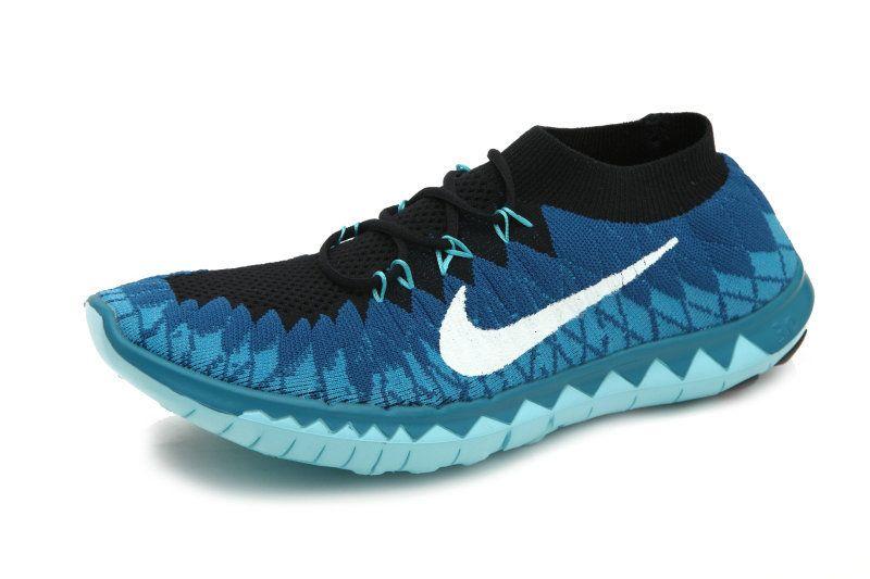 2015 Nike Free Flyknit 3 0 Damen Blau Nike Free Shoes Nike Free Flyknit Nike