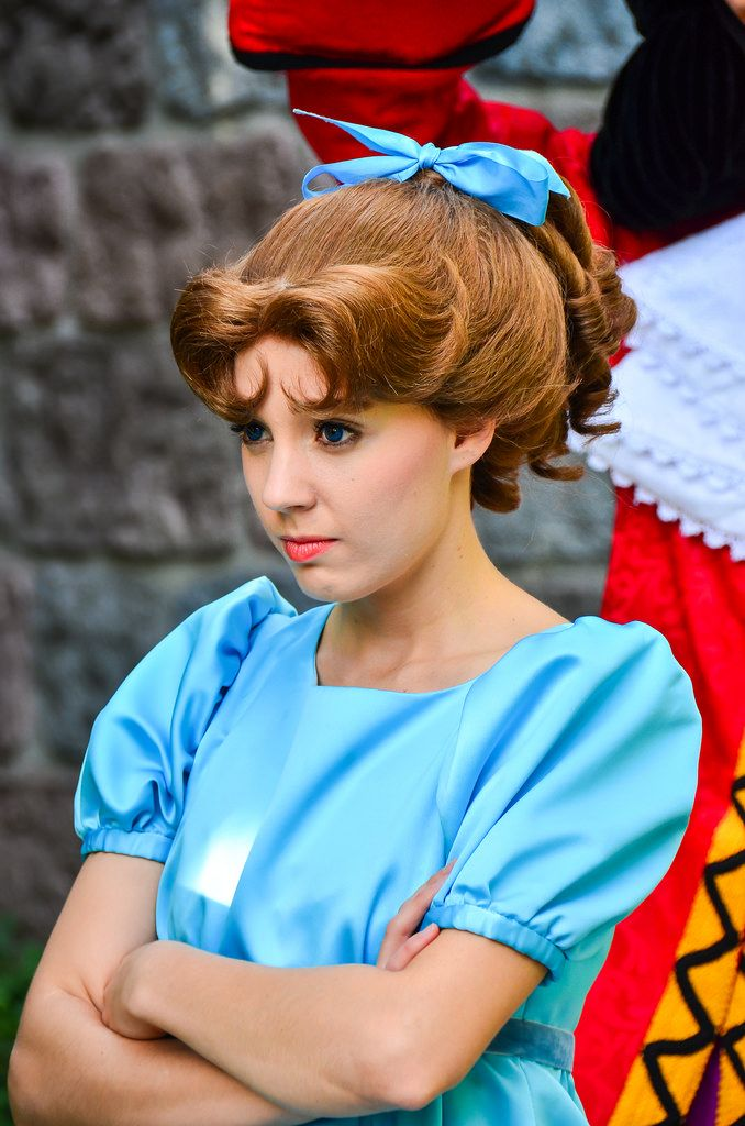 Wendy Darling Hair Tutorial Google Search