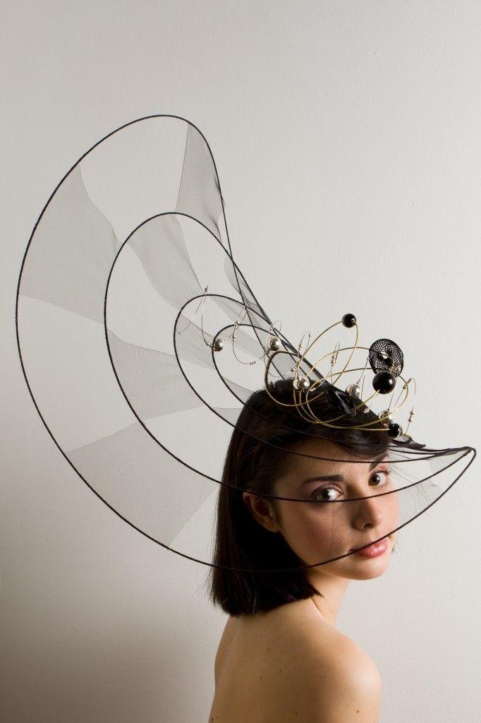 Hat designs by Candela Cort. (Candela Cort y sus sombreros-joya) #passion4hats