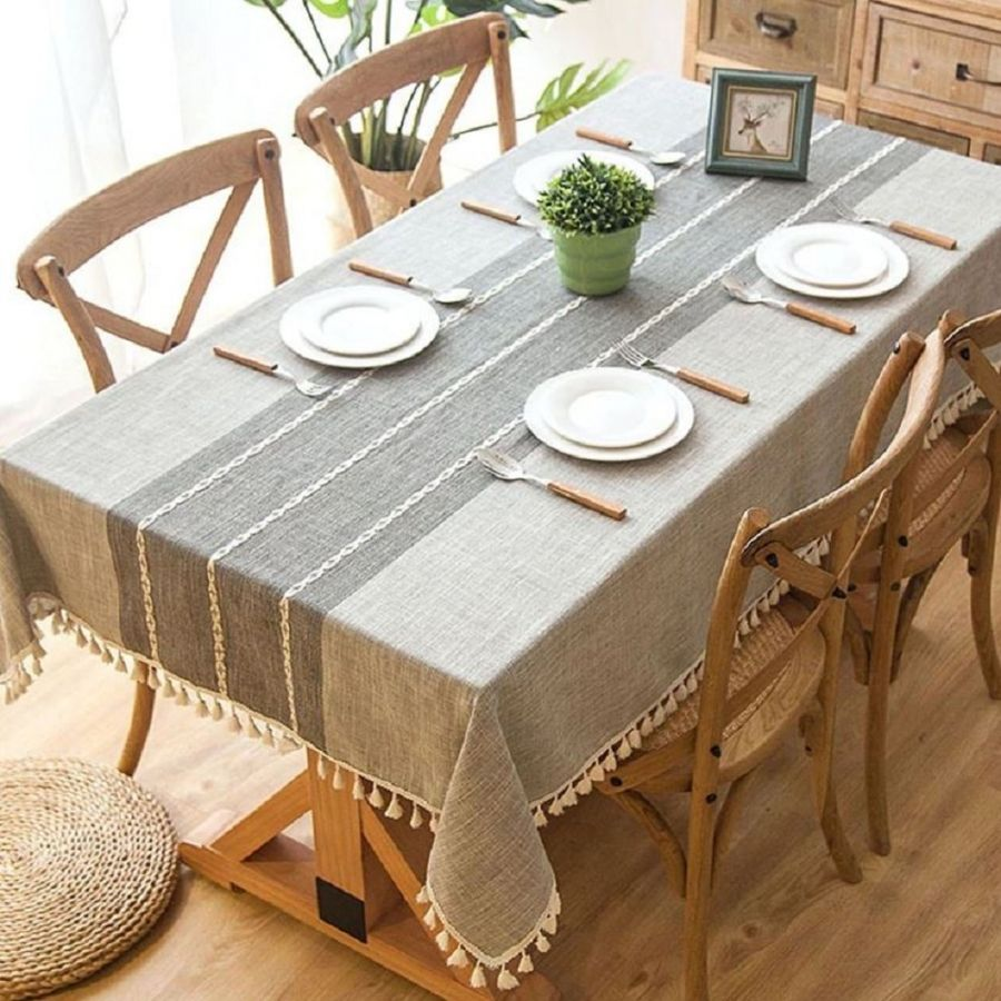19 The Correct Tablecloth Dimensions For Your Table With Images